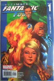 Ultimate Fantastic Four #1 Dynamic Forces Signed Adam Kubert COA Ltd 499 DF